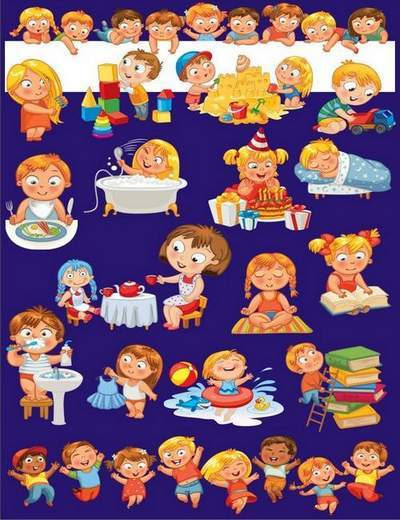Children Clipart free png - 44 png images Children on a transparent background free download