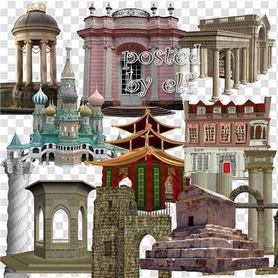 Houses and buildings Architecture clipart 64 png images free download