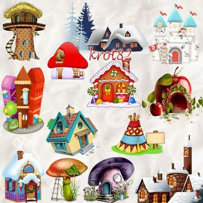 Fabulous Clipart PNG - 388 PNG images Fabulous House, Castle, houses, town, free download
