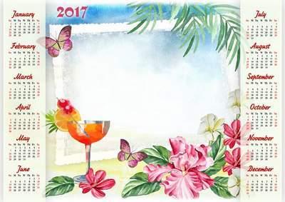 Рамки для календарь на 2017 год
