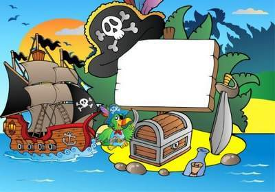 Children's Picture Frame - Little pirates free download