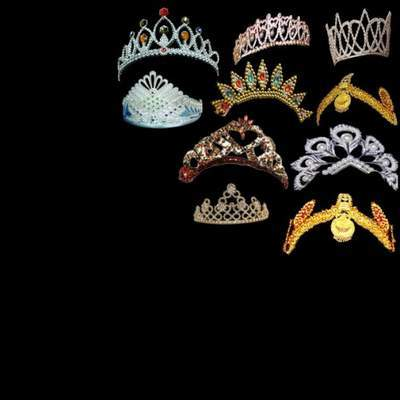 Tiaras on a transparent background free psd file free download