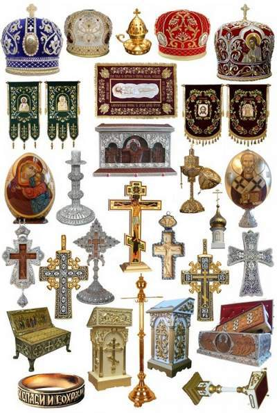 Christian clipart collection in Psd file free download