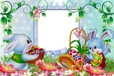 Easter frames for Photo - Our Family
