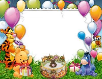 Child Frame - To thee to the feast with a kind and cheerful gifts come your friends