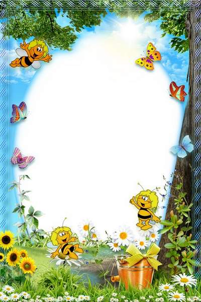 Kid's Frame Sunny Day with Bees download