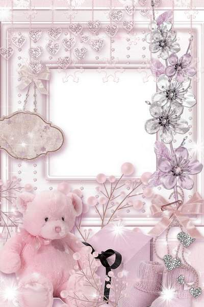 Baby Frame for Photoshop download, Baby boy and Baby girl photo frame