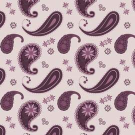Paisley or Indian cucumber - decorative ornament JPG