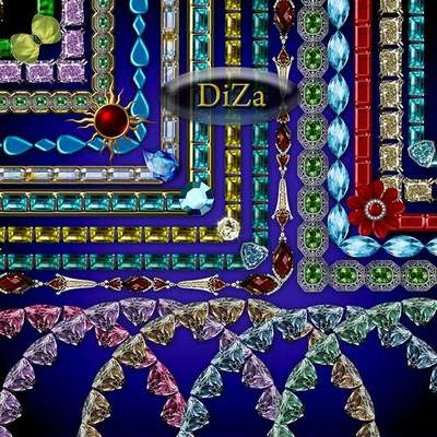 Jewelry frames png download - 67 free png frames of precious stones