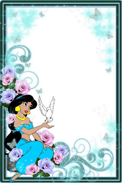 Children frame for photo free download - Oriental Tales