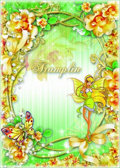 Flower frame Vinks free download - How I wanted to be a fairy from the magical Alfei