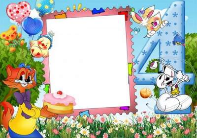 psd frame for a baby picture happy birthday free download