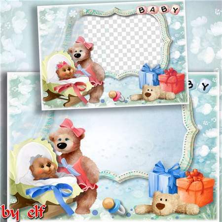 Baby boy frame  & baby girl frame for the photo download