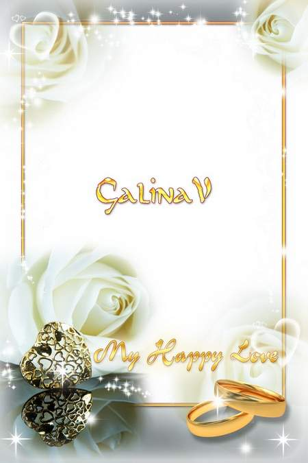 Wedding Photoframe - My Happy Love