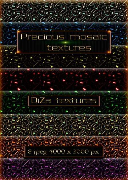 Precious mosaic textures download