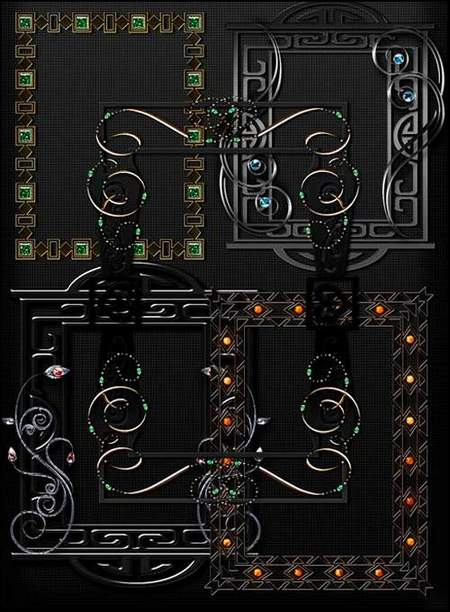 Decorative frames png download - 45 free png frames