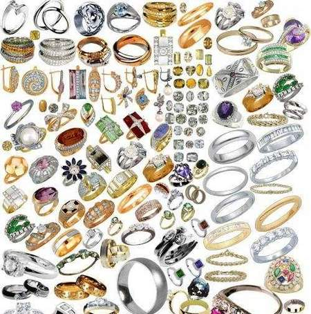 Rings Clipart download - jewelry rings free psd file (104 layer)