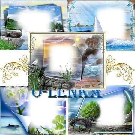 Set free Frames png download - Ocean holidays