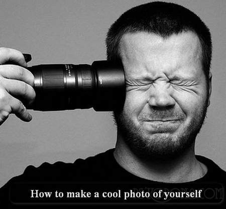 How to make a cool photo of yourself