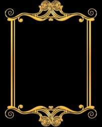 Frames necklines download - gold and silver frames 9 free psd files
