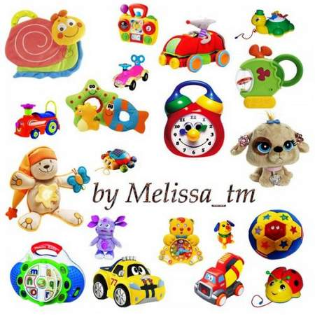 Toys Clipart download - free psd file