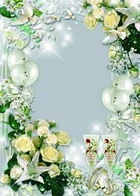 Wedding frame for photo - Your brilliant, gentile glance star even notice