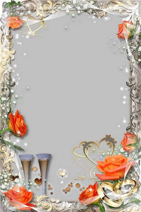 Wedding Frame - Exciting Feeling of Love