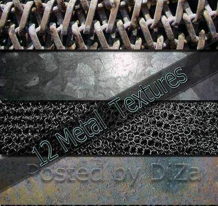 12 metal textures download