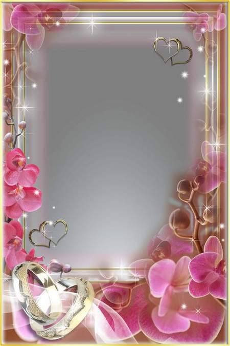 Frames for Photo - Wedding Orchids