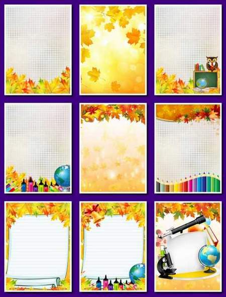 School background download - free 22 jpg backgrounds with autumn leaves