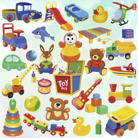 Toys Clipart download - Clipart on a transparent background (free psd file)