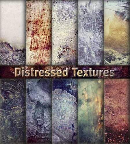 Distressed Textures download - 15 JPG, 3456 x 3456 px