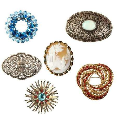 Jewelry clipart Brooches download - free psd file