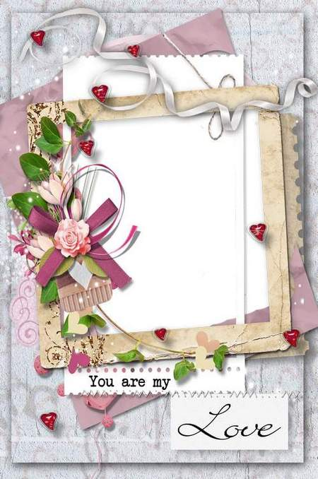 love Frame png for photo - You my love
