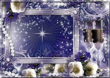 Frame for photo - Congratulate - Let presents joy this world, after all so much in him miraculous