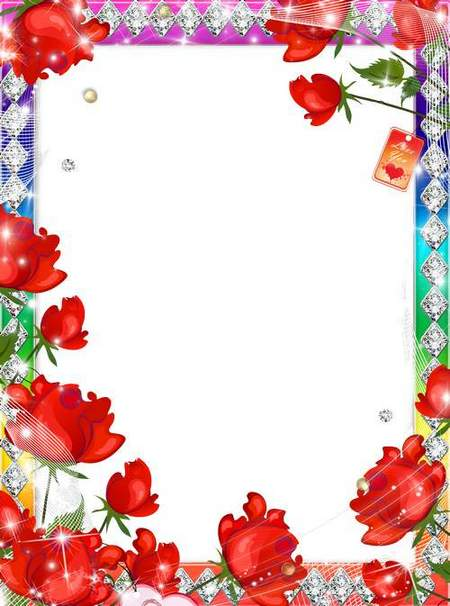 Women's Frame for Photoshop - Rose