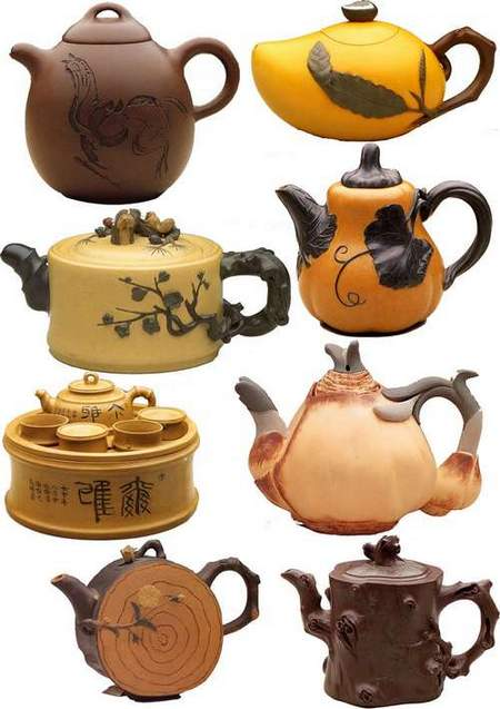Teapots transparent background download - free 2 psd file (updated + psd)