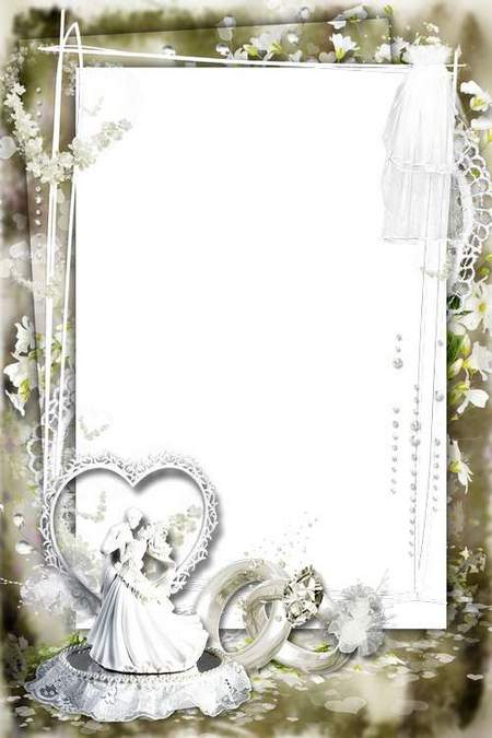 "Beautiful frames for photos of ""Bride"""