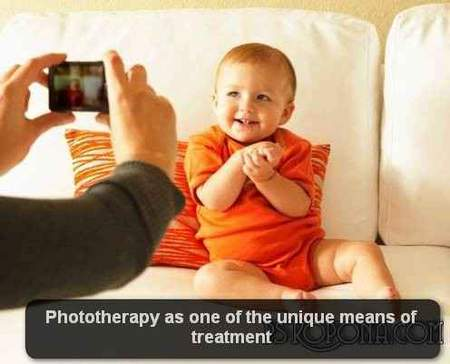 Phototherapy as one of the unique means of treatment