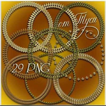 Round frame png online download - free 29 circular frames png in golden style
