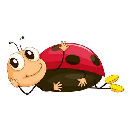 Free ladybug clipart psd - free download