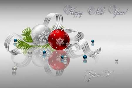 PSD-Source download - New Year Composition free psd file
