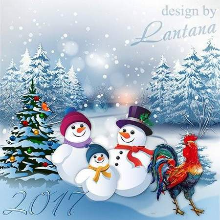 Free psd file download - Year of the rooster