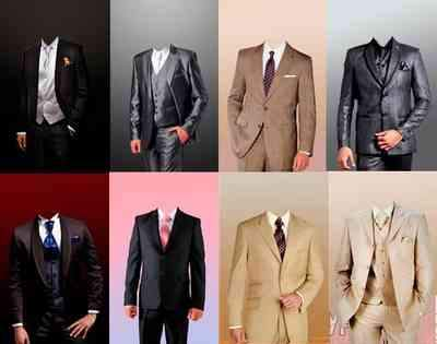 Stylish men psd - free men's suits 8 psd free download