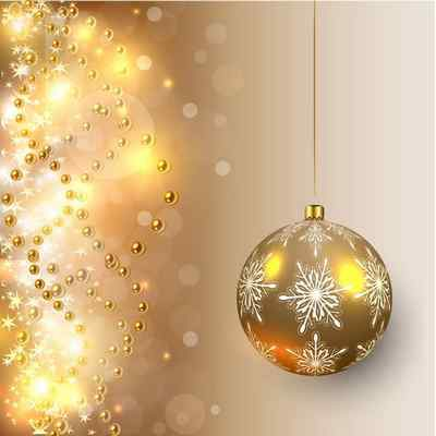 Free Christmas backgrounds psd - 2 layered psd, Golden Christmas