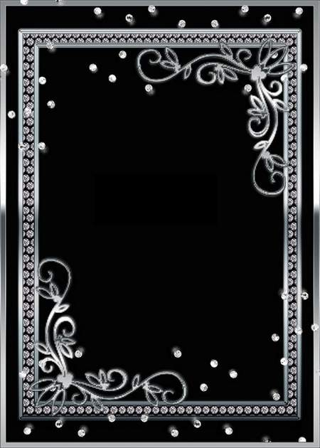 Silver Picture frame PSD