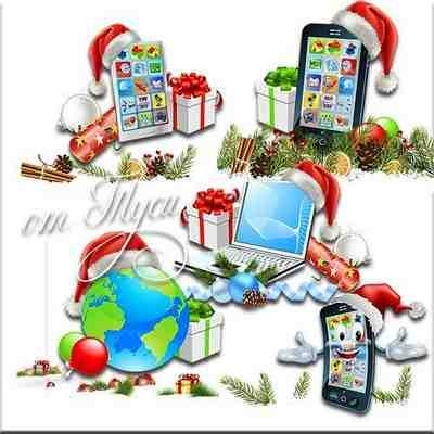 Christmas Gifts Clipart psd ( free psd file, free download )