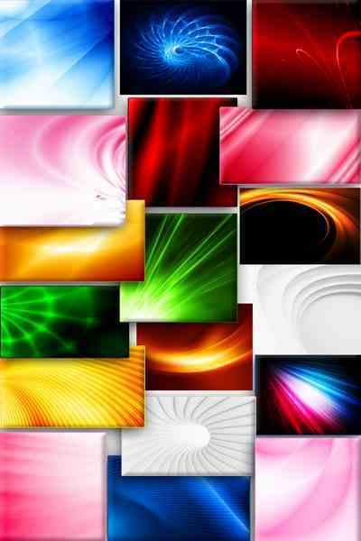 Colored shiny abstract backgrounds download - 25 JPG, ~ 4000 x 7400 px