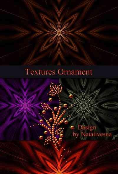 Textures - Bright ornament ( free textures, free download )