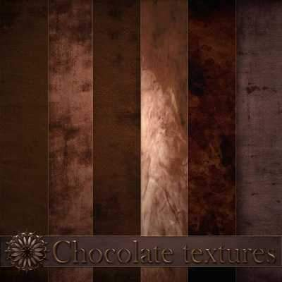 Chocolate textures ( free textures, free download )